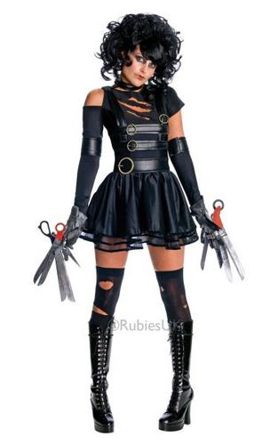 Miss Scissorhands Fancy Dress Costume Thumbnail 1