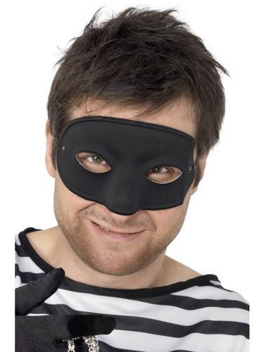 Burglar Eye Fancy Dress Mask Thumbnail 1