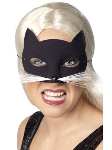 Cat Eye Fancy Dress Mask Thumbnail 1
