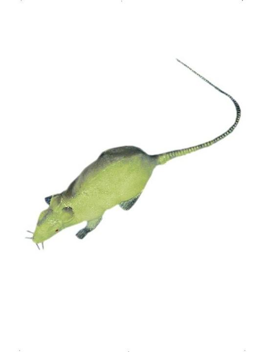 Glow in the Dark Squeaking Rat Thumbnail 2