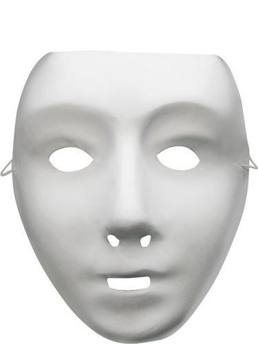 Self Decoration Robot Fancy Dress Mask Thumbnail 1