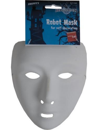 Self Decoration Robot Fancy Dress Mask Thumbnail 2