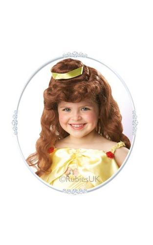 Belle Fancy Dress Wig Thumbnail 1