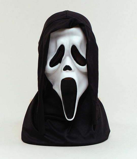 Scream Mask White Thumbnail 1