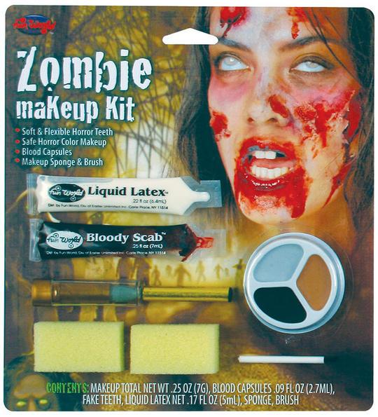 Zombie Make Up Kit. Female Thumbnail 1