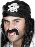 Pirate Bandana Skull and Crossbones