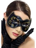 Eye Mask Persian Black and Gold