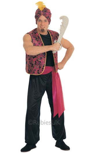 Sultan Fancy Dress Costume