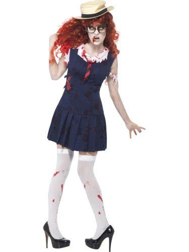 Ladies High School Horror Zombie College Student