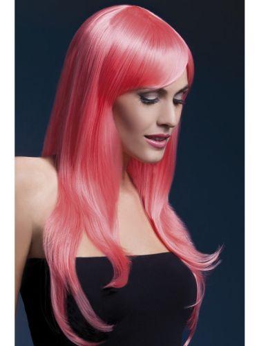 Fever Sienna Wig Pastel Coral