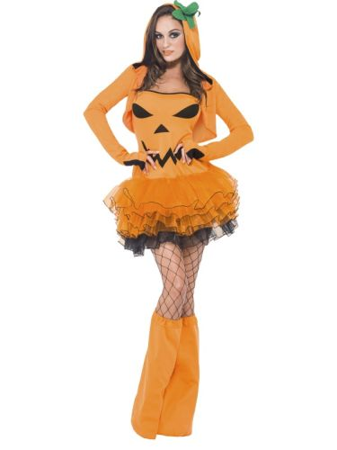 Fever Pumpkin Tutu Dress