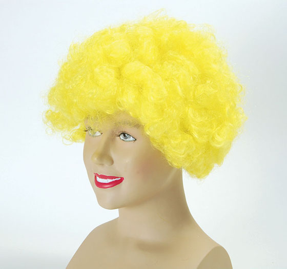 Pop Wig. Budget. Yellow