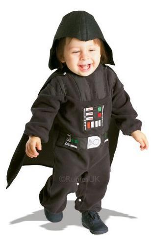Baby Darth Vader Fancy Dress Costume Thumbnail 1