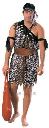 Caveman Fancy Dress Costume Thumbnail 1