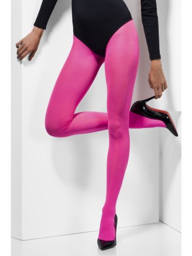 Opaque Tights Pink Thumbnail 2