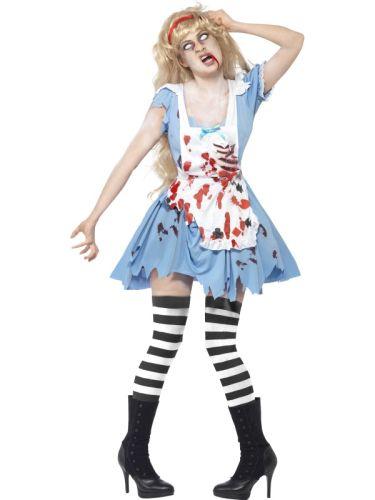 Ladies Zombie Malice Costume Thumbnail 1