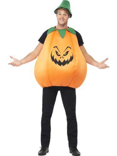 Adult Unisex Pumpkin Costume Thumbnail 1