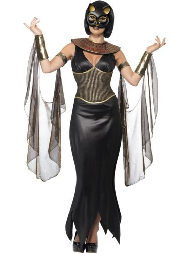 Ladies Bastet the Cat Goddess Costume Thumbnail 1