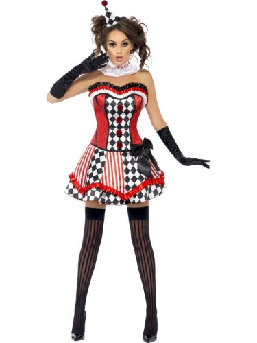 Fever Boutique Clown Cutie Costume Thumbnail 2
