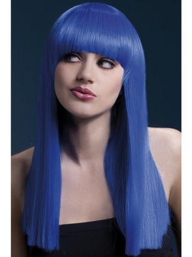 Fever Alexia Wig Neon Blue Thumbnail 1