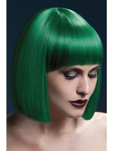 Fever Lola Wig Green Thumbnail 1