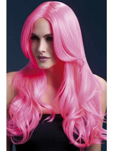 Fever Khloe Wig Neon Pink Thumbnail 1