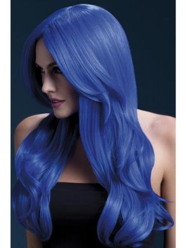 Fever Khloe Wig Neon Blue Thumbnail 1