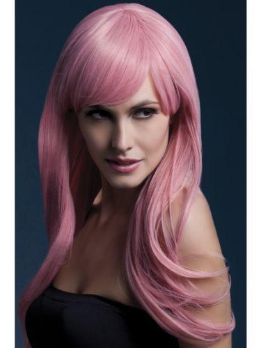 Fever Sienna Wig Pastel Pink Thumbnail 1