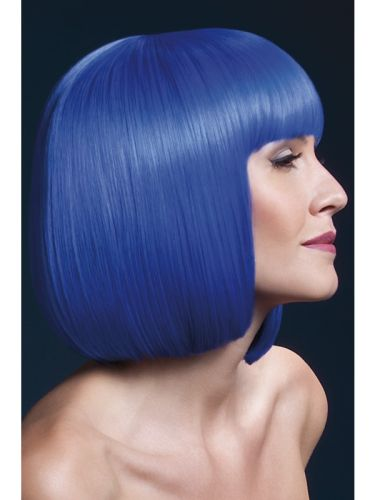 Fever Elise Wig Neon Blue Thumbnail 1