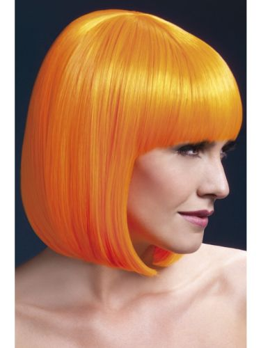Fever Elise Wig Neon Orange Thumbnail 1