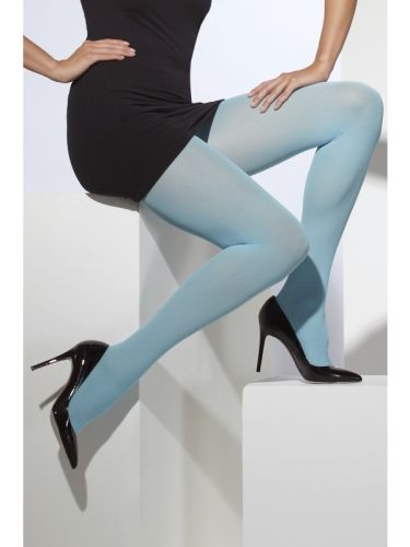 Opaque Tights Blue Thumbnail 1