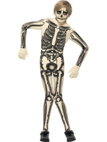 Childs Skeleton Second Skin Costume Thumbnail 1