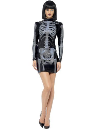 Fever Miss Whiplash Skeleton Costume Thumbnail 1