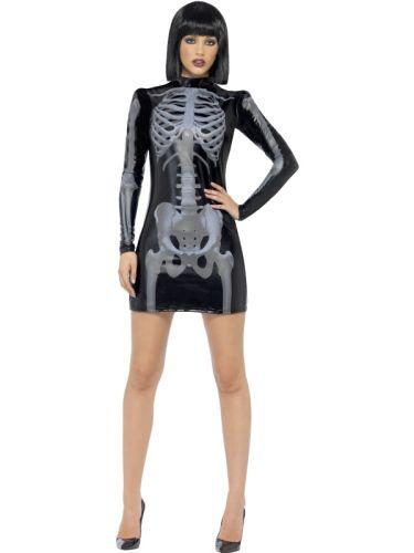 Fever Miss Whiplash Skeleton Costume Thumbnail 2