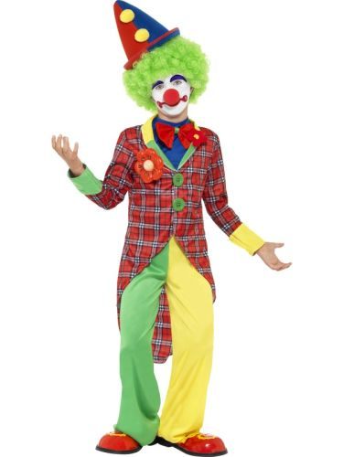 Clown Costume Childs Thumbnail 1
