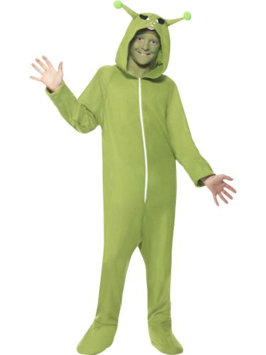 Childs Alien All in One  Costume Thumbnail 1