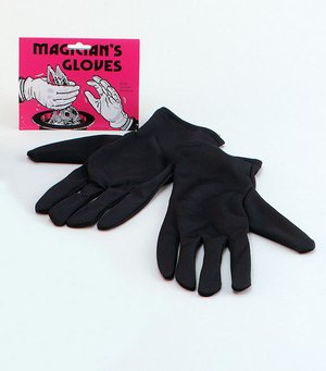 Gloves. Gents Black Thumbnail 1