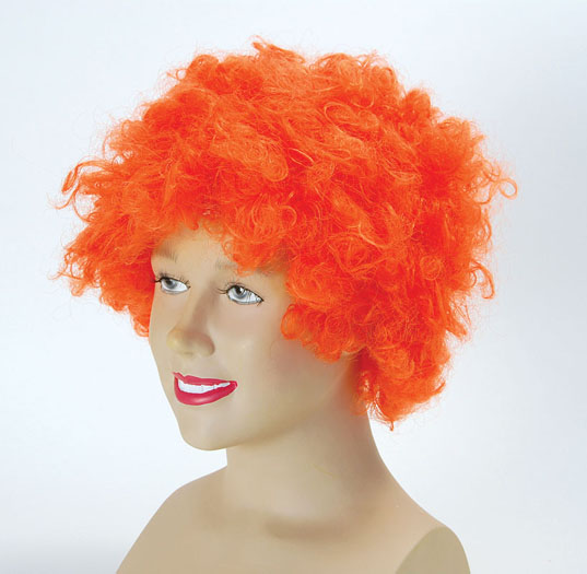 Pop Wig. Budget. Orange Thumbnail 1
