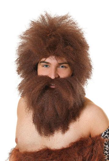 Caveman Wig + Beard Set Thumbnail 1