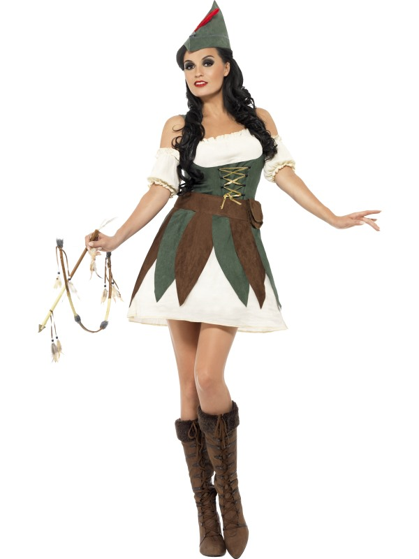 Fever Outlaw Fancy Dress Costume