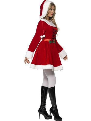 Miss Santa Fancy Dress Costume Thumbnail 3