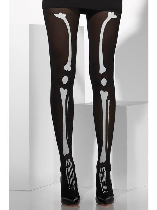 Skeleton Print Tights Thumbnail 2