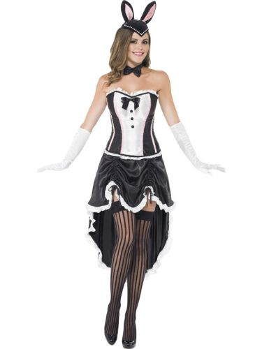 Adult Bunny Burlesque Costume Thumbnail 1
