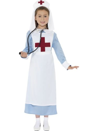 WW1 Childs Nurse Costume Thumbnail 1