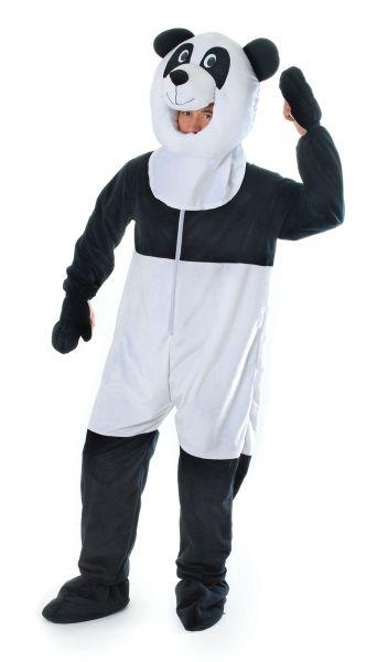 sc 1 st  Wonderland Party & Adult Panda Big Head Costume