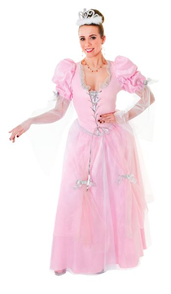 Adult Fairy Tale Princess Costume  sc 1 st  Wonderland Party & SALE! Adult Fairytale Pink Princess Ladies Fancy Dress Costume Party ...