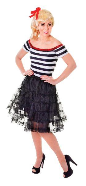 Adult Black Underskirt