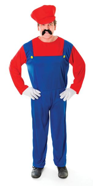Adult Plumber's Mate costume