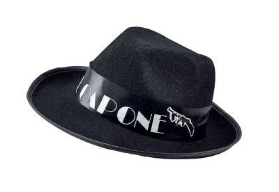 Al Capone Black Felt