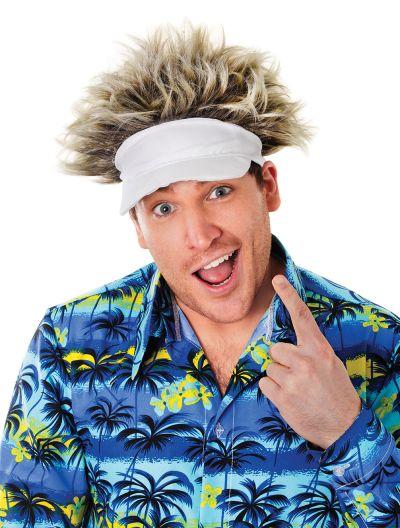 Hat + Hair. Golfer Style